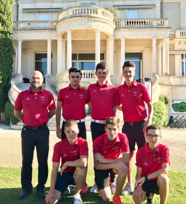 Championnat de France de golf par équipes U16 2