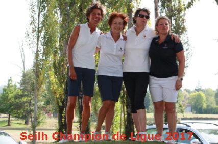 Interclubs de Ligue seniors dames 2