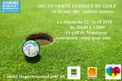 Découverte ludique du golf pour les enfants autistes