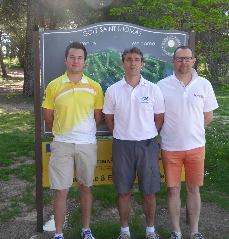 Golf Entreprise - Qualification Coupe de France Région Occitanie T1 1
