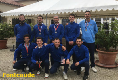 4eme Division nationale poule C Messieurs 1