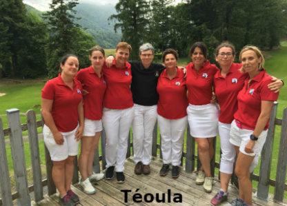 Championnat de France par équipes Mid-Amateur Dames 1