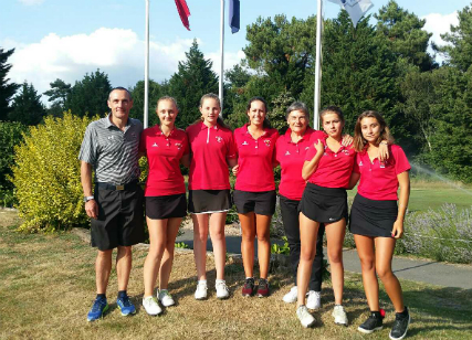 Championnats de France de golf par équipes U16