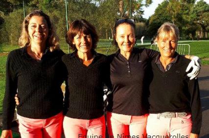 Divisions Nationales Seniors Dames 2018