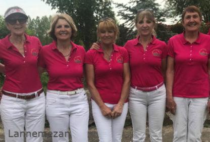Promotion nationale Seniors dames 2018