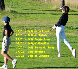 Pitch and Putt hivernal jeunes
