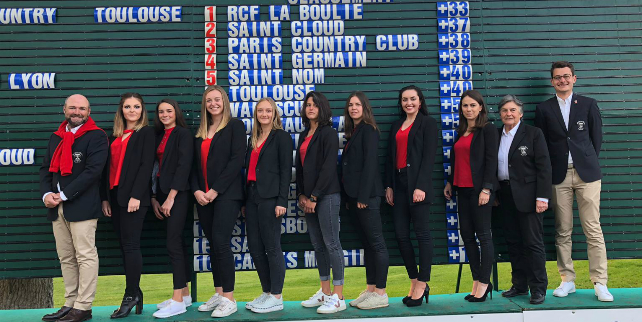 Championnats de France par équipes Dames 2