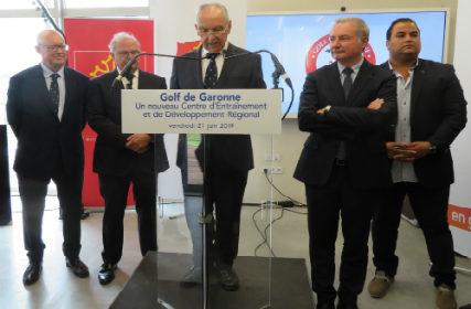 Inauguration du golf de Garonne 4