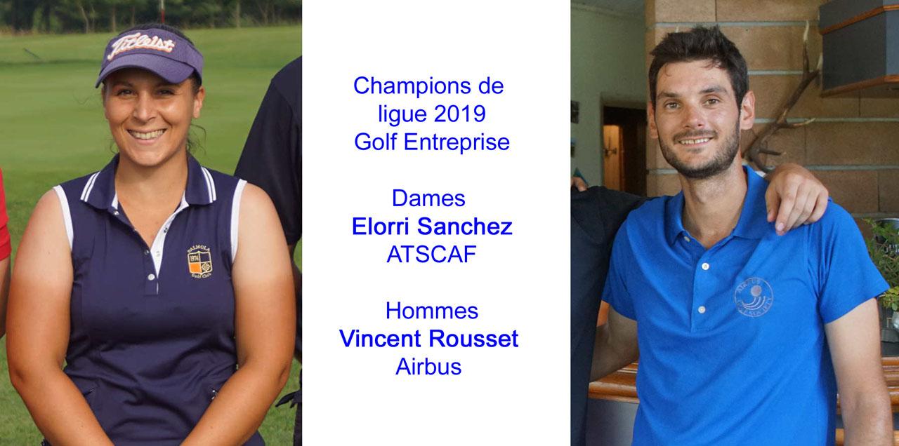 Championnats individuel de ligue Golf Entreprise 1