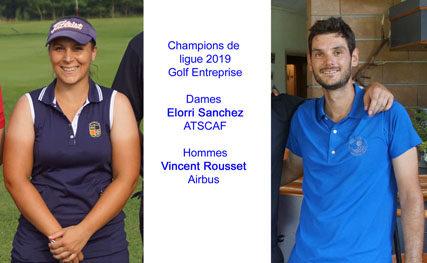 Championnats individuel de ligue Golf Entreprise