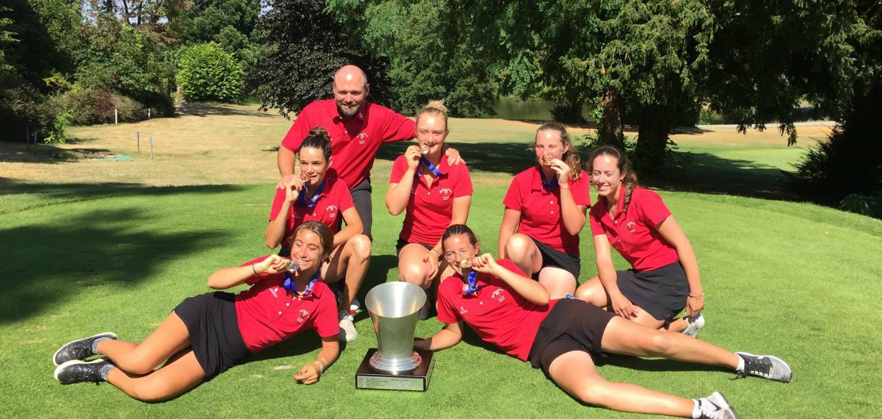 Les U16 du Golf Club de Toulouse Championnes de France