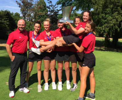 Les U16 du Golf Club de Toulouse Championnes de France 2