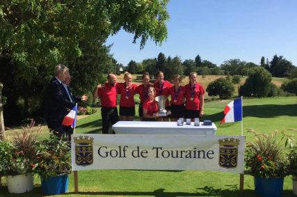 Les U16 du Golf Club de Toulouse Championnes de France 1