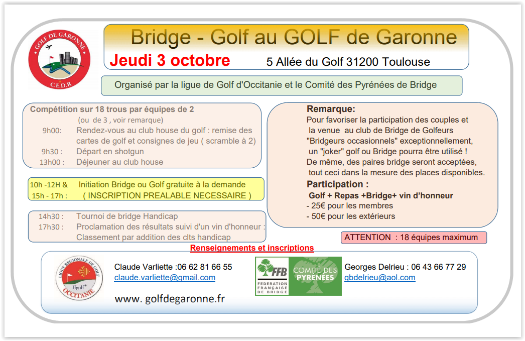 Bridge - Golf de Garonne