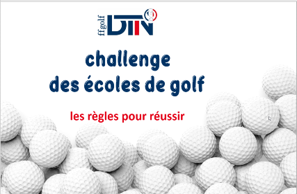 Challenge National des écoles de golf 1
